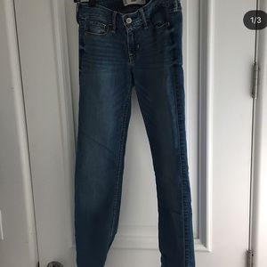 hollister straights jeans
